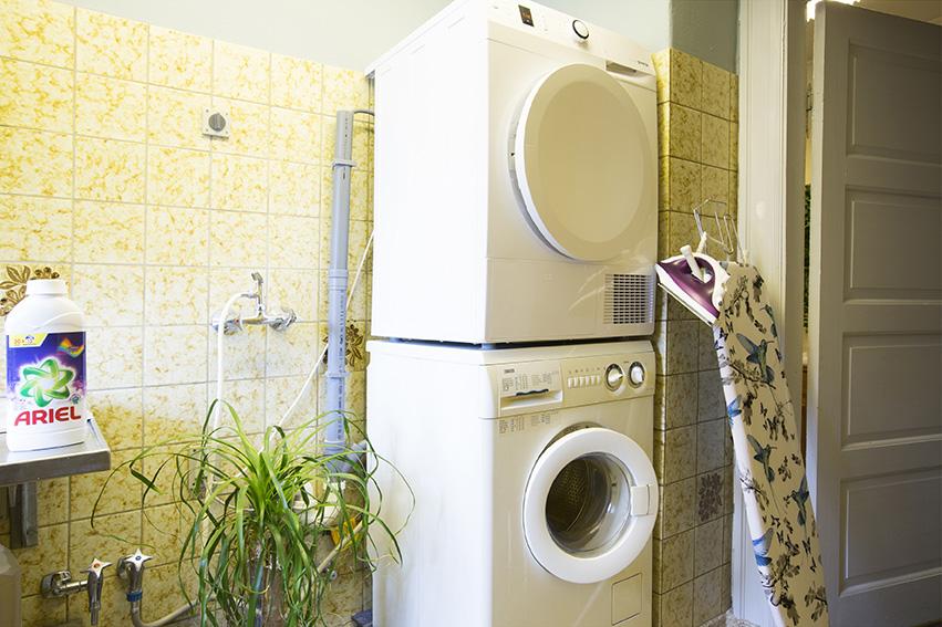 Vask og tør dit tøj hos os.